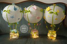 Centrotavola mongolfiere handmade | Novella Bragagna | Flickr Battesimo fai da te mongolfiere hot air balloon baby showe Paper, Hot, Handmade, Ideas, Home Decor, Bebe, Homemade Home Decor, Interior Design, Home Interiors