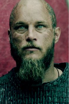 Ragnar Lotbrok splendidly portrayed by Travis Fimmel