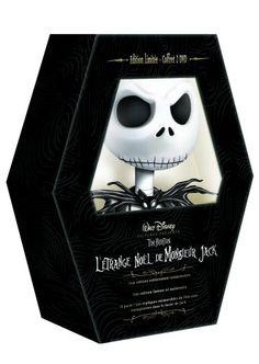 L'étrange Noel de Monsieur Jack en dvd collector édition limitée et numérotée
