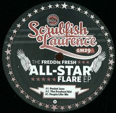 Scrubfish & Laurence – The Freddie Fresh All-Star Flare EP (Guesthouse) 2009 // Jazzy/Jackin House
