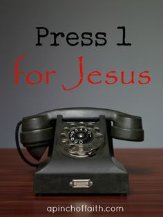 Press 1 for Jesus - A Pinch Of Faith