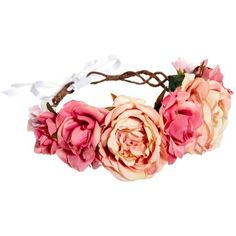 Rock 'N Rose Nora Hair Crown (979.580 IDR) ❤ liked on Polyvore featuring accessories, hair accessories, crown hair accessories and rock 'n rose
