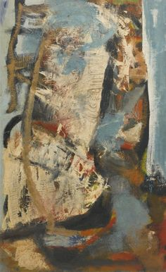 Peter Lanyon (British, 1918-1964), Dry Wind, 1958. Oil on canvas laid on board.  Thunderstruck