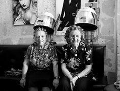 Looks like every Friday in my Grandparent's basement hair salon.