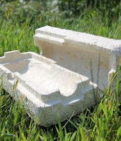 les briques d'ecovative design sont fabriquées... en champignons.