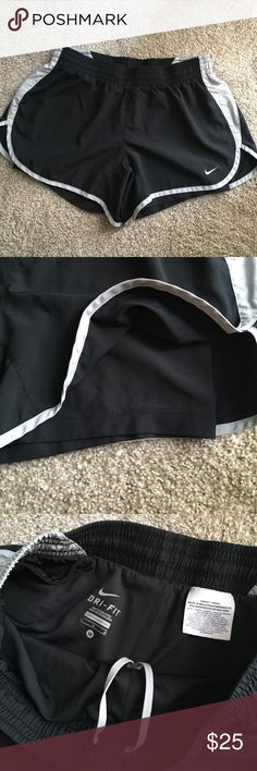Nike Dri-Fit Shorts with Built in Spanx Nike shorts with built in spandex. Great condition, hardly worn. Nike Shorts