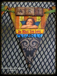 Angel Pennant Banner