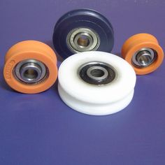 Cojinetes de nylon. Nylon bearings