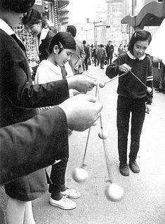 当時は皆、リングを持ちながら球を『カチカチ』と鳴らして...