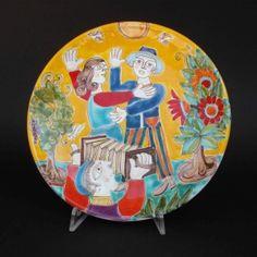 Italian Pottery, Palermo, Decorative Plates, Home Decor, Decoration Home, Room Decor, Interior Decorating