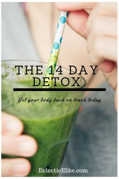 Staying healthy can be tough & everyone has their cheat days. This detox diet plan made me feel a lot healthier in only 14 DAYS!