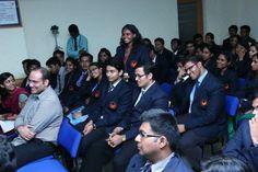Pramod P Thevannoor with Rishi Raj Singh IPS and Antony B J Joseph at SCMS Cochin School of Business. #SCMS #MBA