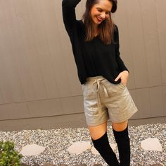 Fern shorts by Ferns, White Shorts, Sewing, Women, Fashion, Moda, Dressmaking, Couture, Fashion Styles