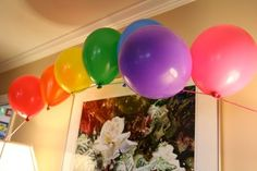 lots of rainbow party ideas