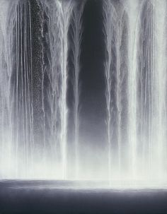 Hiroshi Senju, Waterfall, 2009, Natural pigments on Japanese mulberry paper