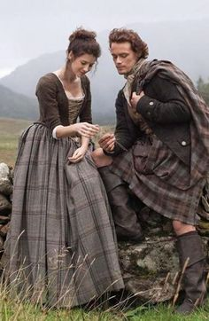 Jamie and Claire, #Outlander