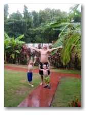 You can enjoy Jamaica weather... even when it's raining!
