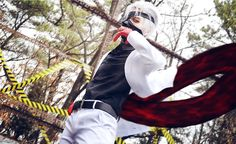toria(Laze) Ken Kaneki Cosplay Photo - Cure WorldCosplay