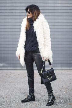 Fashion Landscape | How To Wear A Faux Fur Coat