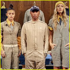 Pharrell Williams Launches G-Star Raw Suit Collection!