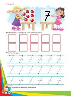 Okul Öncesi Etkinlik Mutlu Çocuklar Sokağı - Ek Kitapçık Lessons For Kids, Math Lessons, Fun Math, Worksheets, Teacher, Education, School, Fine Motor, Games