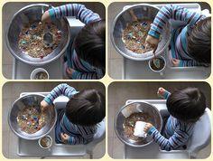 baby development - pasta and grain games