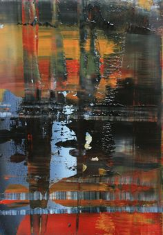 "Koen Lybaert; Oil, 2012, Painting ""abstract N° 493"""
