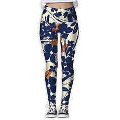0f7a9e6d63 CAWHJDW Women's Classic Taco Cats Flex Yoga Leggings Pants Gym Capri ...