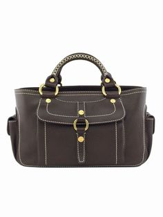 813c7aee67c3 Save big on the Cline Boogie Limited Edition Cabestan Purse Brown Leather  Satchel! This satchel is a top 10 member favorite on Tradesy.