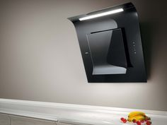 Wall-mounted glass cooker hood SINFONIA by Elica | design Elica Design Center