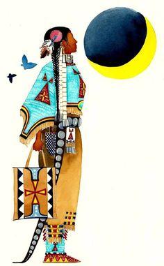 by Joe Pulliam, Lakota Artist