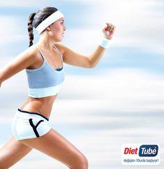 Hareketi hayatınıza sokun; araştırmalar sıkı bir vücut için #diyet yanında mutlaka #egzersiz yapmanın da önemli olduğunu kanıtlıyor. Haftada 3-4 kez yürüyüş, koşu, bisiklet, yüzme, dans gibi #kardiyo egzersizlere ilave olarak #pilates ve yoga yapabilirsiniz. #DietTube #diyetteyim #diet #sıkıbirvücutiçin #koşu http://on.fb.me/1ETRJ1M