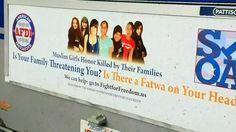The awkward, Islamophobic ETS ads.