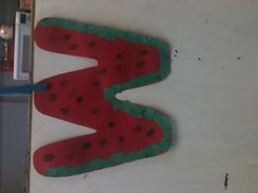 Ww is for watermelon! Letter of the week craft.