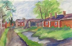 Akvarelli. Kalle Aaltonen. Painting, Art, Art Background, Painting Art, Kunst, Paintings, Performing Arts, Painted Canvas, Drawings