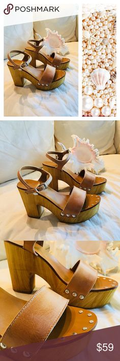 """Steve Madden Leather Heels Steve Madden heels. Like-new condition. Leather upper. Heel 4"""". Made in Italy. Steve Madden Shoes Heels"""