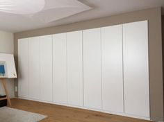 Built-in PAX - for bedroom closet. This is a great solution to our closet problems.
