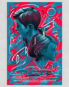 Drive Poster by Boris Pelcer