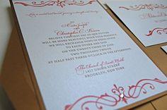 Simple but Elegant Wedding Invitations | wedding-invitations-fancy-and-elegant-red-and-gold-wedding-invitation ...