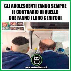 Gli #adolescenti fanno sempre il contrario dei propri #genitori! #bastardidentro www.bastardidentro.it