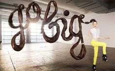 AIZONE SS13 Campaign by Sagmeister and Walsh
