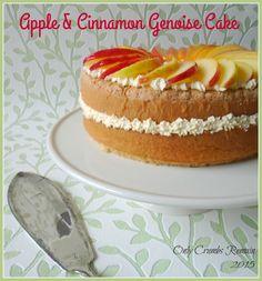 Apple and Cinnamon Genoise Cake