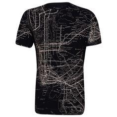 Camiseta GANG Fullprint #Mapa @gangoficial
