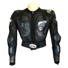 WOW Moto Bike Guard protector Youth body armor black $34.95