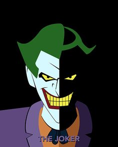 Batman The Animated Series Joker Poster by TheCuttingEdgeShop