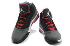 "Air Jordan B'MO Men Shoes ""Red/Black/Grey"" ★ Size: US 8/8.5/9.5/10-12"
