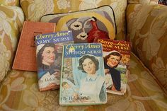 Cherry Ames series of books for young girls. Thought I might want to be a nurse after reading these, but nahhh.....