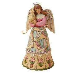 Enesco Jim Shore Heartwood Creek Classic Angel with Cat Figurine, 8-Inch Enesco,http://www.amazon.com/dp/B00AQ04HAS/ref=cm_sw_r_pi_dp_-LOhtb0EXHW3ZDRH