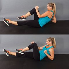 Running Boat - 10-Minute Workout: Calorie-Blasting Cardio - Shape Magazine - Page 6
