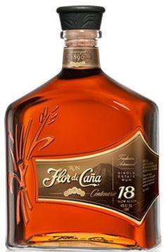 Flor de Cana 18 Year Old - Rum - Sterke drank   Online Kopen & Bestellen   Whisky, Vodka, Rum, Gin, Absinth Tolle Geschenke mit Rum gibt es bei http://www.dona-glassy.de/Geschenke-mit-Rum:::22.html